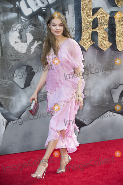 Xenia Tchoumitcheva Photo - London UK Xenia Tchoumitcheva at the European premiere of King Arthur Legend of the Sword at Cineworld Empire on May 10 2017 in London United KingdomRef LMK386-J285-110517Gary MitchellLandmark MediaWWWLMKMEDIACOM