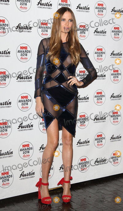 Alicia Rountree Photo - London UK Alicia Rountree at the NME Awards 2016 with Austin Texas O2 Academy Brixton Stockwell Road London UK on Wednesday 17 February 2016Ref LMK73-60002-180216Keith MayhewLandmark Media WWWLMKMEDIACOM