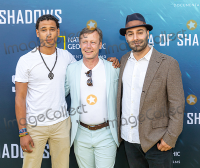 The National Photo - LOS ANGELES CA - JULY 10  (Center) Producer Wolfgang Knopfler attends the National Geographic Sea of Shadows Movie Premiere on July 10 2019 in Los Angeles California  (Photo by Corine SolbergImageCollectcom)