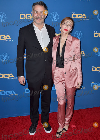 MIGUEL BOS Photo - LOS ANGELES CALIFORNIA USA - JANUARY 25 Miguel Sapochnik and Alexis Raben arrive at the 72nd Annual Directors Guild Of America Awards held at The Ritz-Carlton Hotel at LA Live on January 25 2020 in Los Angeles California United States (Photo by Image Press Agency)