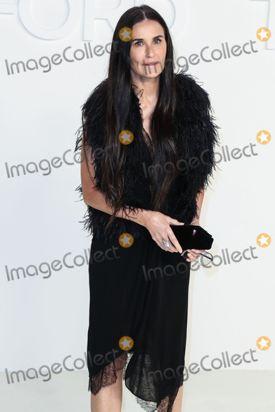 Demi Moore Photo - HOLLYWOOD LOS ANGELES CALIFORNIA USA - FEBRUARY 07 Demi Moore arrives at the Tom Ford AutumnWinter 2020 Fashion Show held at Milk Studios on February 7 2020 in Hollywood Los Angeles California United States (Photo by Xavier CollinImage Press Agency)