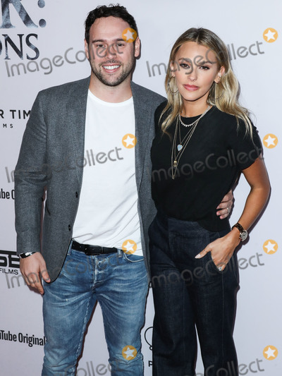 Justin Bieber Photo - WESTWOOD LOS ANGELES CALIFORNIA USA - JANUARY 27 Scooter Braun and wife Yael Cohen arrive at the Los Angeles Premiere Of YouTube Originals Justin Bieber Seasons held at the Regency Bruin Theatre on January 27 2020 in Westwood Los Angeles California United States (Photo by Xavier CollinImage Press Agency)