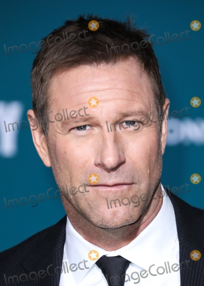 Aaron Eckhart Photo - WESTWOOD LOS ANGELES CALIFORNIA USA - NOVEMBER 05 Actor Aaron Eckhart arrives at the Los Angeles Premiere Of Lionsgates Midway held at the Regency Village Theatre on November 5 2019 in Westwood Los Angeles California United States (Photo by David AcostaImage Press Agency)