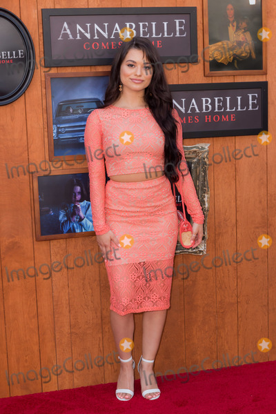 Ariel Yasmine Photo - WESTWOOD LOS ANGELES CALIFORNIA USA - JUNE 20 Ariel Yasmine arrives at the Los Angeles Premiere Of Warner Bros Annabelle Comes Home held at Regency Village Theatre on June 20 2019 in Westwood Los Angeles California United States (Photo by Rudy TorresImage Press Agency)