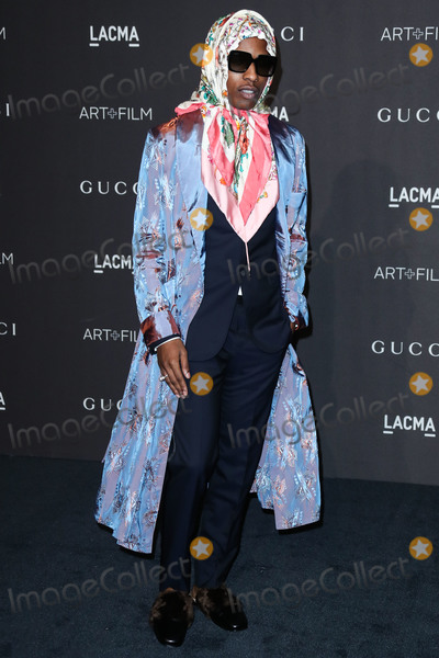 AAP Rocky Photo - LOS ANGELES CA USA - NOVEMBER 03 AAP Rocky ASAP Rocky Rakim Mayers at the 2018 LACMA Art  Film Gala held at the Los Angeles County Museum of Art on November 3 2018 in Los Angeles California United States (Photo by Xavier CollinImage Press Agency)