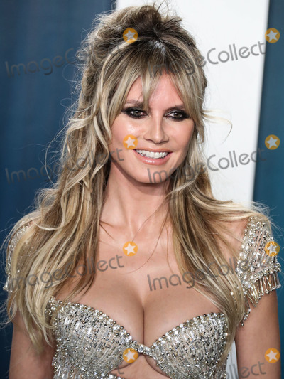 Heidi Klum Photo - BEVERLY HILLS LOS ANGELES CALIFORNIA USA - FEBRUARY 09 Heidi Klum arrives at the 2020 Vanity Fair Oscar Party held at the Wallis Annenberg Center for the Performing Arts on February 9 2020 in Beverly Hills Los Angeles California United States (Photo by Xavier CollinImage Press Agency)