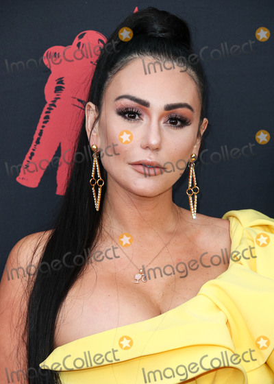 Jenni JWoww Photo - NEWARK NEW JERSEY USA - AUGUST 26 Jenni JWoww Farley arrives at the 2019 MTV Video Music Awards held at the Prudential Center on August 26 2019 in Newark New Jersey United States (Photo by Xavier CollinImage Press Agency)
