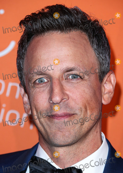 Seth Meyer Photo - MANHATTAN NEW YORK CITY NEW YORK USA - SEPTEMBER 12 Seth Meyers arrives at Rihannas 5th Annual Diamond Ball Benefitting The Clara Lionel Foundation held at Cipriani Wall Street on September 12 2019 in Manhattan New York City New York United States (Photo by Xavier CollinImage Press Agency)