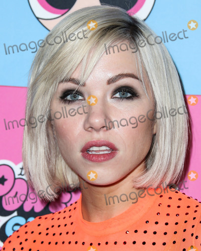 Carly Rae Jepsen Photo - LOS ANGELES CA USA - MARCH 08 Singer Carly Rae Jepsen arrives at the Christian Cowan x The Powerpuff Girls Runway Show held at the City Market Social House on March 8 2019 in Los Angeles California United States (Photo by Xavier CollinImage Press Agency)
