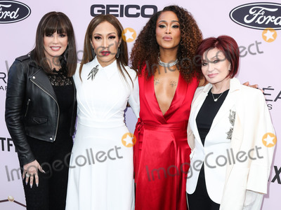 Sharon Osbourne Photo - BEVERLY HILLS LOS ANGELES CALIFORNIA USA - FEBRUARY 06 Marie Osmond Carrie Ann Inaba Eve Jihan Jeffers Cooper and Sharon Osbourne arrive at the 2020 13th Annual ESSENCE Black Women in Hollywood Awards Luncheon held at the Beverly Wilshire A Four Seasons Hotel on February 6 2020 in Beverly Hills Los Angeles California United States (Photo by Xavier CollinImage Press Agency)