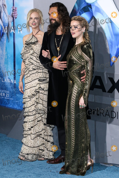 Nicole Kidman Photo - HOLLYWOOD LOS ANGELES CA USA - DECEMBER 12 Actors Nicole Kidman Jason Momoa and Amber Heard arrive at the Los Angeles Premiere Of Warner Bros Pictures Aquaman held at the TCL Chinese Theatre IMAX on December 12 2018 in Hollywood Los Angeles California United States (Photo by David AcostaImage Press Agency)