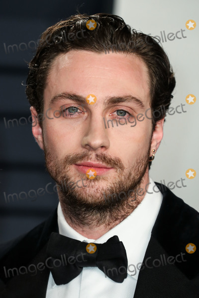 Aaron Taylor-Johnson Photo - BEVERLY HILLS LOS ANGELES CA USA - FEBRUARY 24 Aaron Taylor-Johnson arrives at the 2019 Vanity Fair Oscar Party held at the Wallis Annenberg Center for the Performing Arts on February 24 2019 in Beverly Hills Los Angeles California United States (Photo by Xavier CollinImage Press Agency)