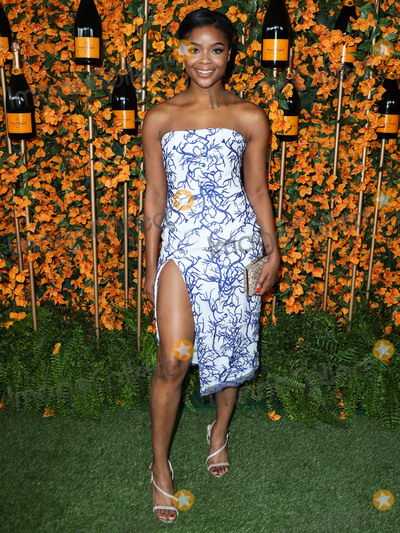 Ajiona Alexus Photo - PACIFIC PALISADES LOS ANGELES CA USA - OCTOBER 06 Ajiona Alexus at the 9th Annual Veuve Clicquot Polo Classic Los Angeles held at Will Rogers State Historic Park on October 6 2018 in Pacific Palisades Los Angeles California United States (Photo by Xavier CollinImage Press Agency)