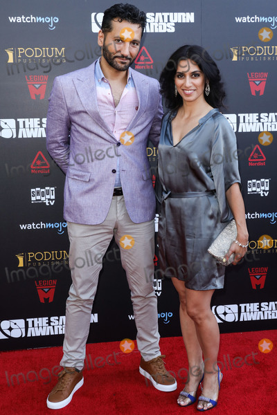 CAS ANVAR Photo - HOLLYWOOD LOS ANGELES CALIFORNIA USA - SEPTEMBER 13 Cas Anvar arrives at the 45th Annual Saturn Awards held at Avalon Hollywood on September 13 2019 in Hollywood Los Angeles California United States (Photo by David AcostaImage Press Agency)
