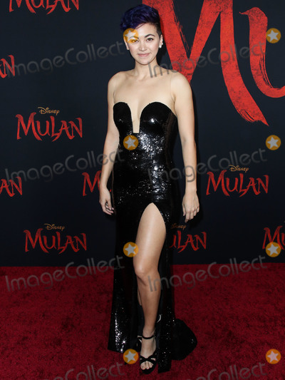 Jessica Henwick Photo - HOLLYWOOD LOS ANGELES CALIFORNIA USA - MARCH 09 Jessica Henwick arrives at the World Premiere Of Disneys Mulan held at the El Capitan Theatre and Dolby Theatre on March 9 2020 in Hollywood Los Angeles California United States (Photo by Xavier CollinImage Press Agency)