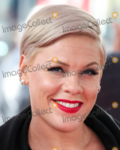 Alecia Beth Moore Photo - (FILE) Pink Reveals She Tested Positive For Coronavirus COVID-19 But Is Now Negative And Donates 1 Million To Fight Pandemic She stated she was donating 1 million - 500000 each to the Temple University Hospital Emergency Fund and the City of Los Angeles Mayors Emergency COVID-19 Crisis Fund HOLLYWOOD LOS ANGELES CALIFORNIA USA - FEBRUARY 05 Singer Pnk (Pink Alecia Beth Moore) wearing Moncler attends a ceremony honoring her With Star On The Hollywood Walk Of Fame - Dedication of the 2656th star on the Walk of Fame in the category of Recording on February 5 2019 in Hollywood Los Angeles California United States (Photo by Xavier CollinImage Press Agency)