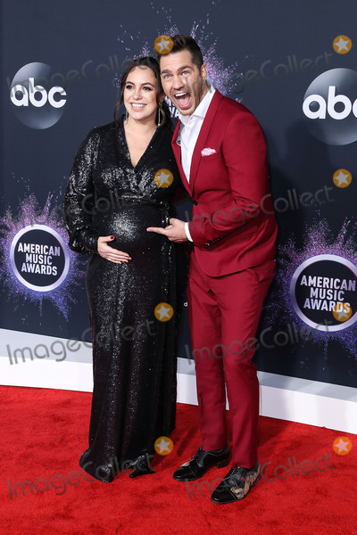 Aijia Grammer Photo - LOS ANGELES CALIFORNIA USA - NOVEMBER 24 Aijia Grammer and Andy Grammer arrive at the 2019 American Music Awards held at Microsoft Theatre LA Live on November 24 2019 in Los Angeles California United States (Photo by Xavier CollinImage Press Agency)