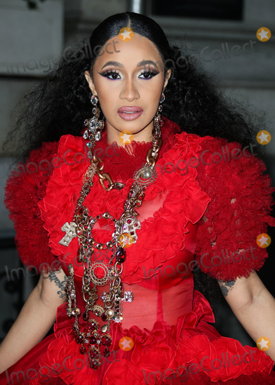 Dolce and Gabbana Photo - (FILE) Cardi B And Fashion Nova Are Giving Away 1000 Per Hour Amid Coronavirus COVID-19 Pandemic Fashion Nova and Cardi B are donating 1000 every hour for the next 42 days until theyve given away 1 million to those affected by the coronavirus pandemic MANHATTAN NEW YORK CITY NY USA - SEPTEMBER 07 Rapper Cardi B (Belcalis Marlenis Almanzar) wearing a Dolce and Gabbana dress arrives at the Harpers BAZAAR Celebration of ICONS By Carine Roitfeld held at The Plaza Hotel on September 7 2018 in Manhattan New York City New York United States (Photo by Xavier CollinImage Press Agency)