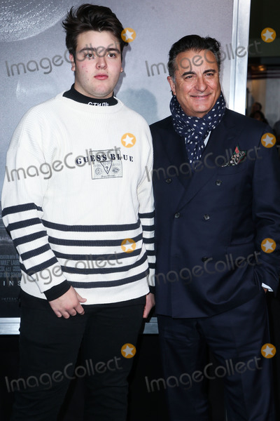 Andy Garcia Photo - WESTWOOD LOS ANGELES CA USA - DECEMBER 10 Andres Garcia Lorido and fatheractor Andy Garcia arrive at the Los Angeles Premiere of Warner Bros Pictures The Mule held at the Regency Village Theatre on December 10 2018 in Westwood Los Angeles California United States (Photo by Image Press Agency)