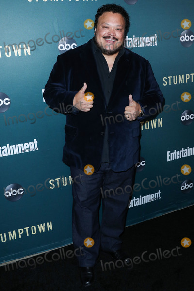 Adrian Martinez Photo - LOS ANGELES CALIFORNIA USA - SEPTEMBER 16 Actor Adrian Martinez arrives at the Los Angeles Premiere Of ABCs Stumptown held at Petersen Automotive Museum on September 16 2019 in Los Angeles California United States (Photo by Xavier CollinImage Press Agency)