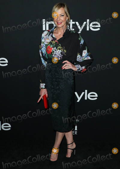Allison Janney Photo - LOS ANGELES CA USA - OCTOBER 22 Actress Allison Janney wearing Antonio Marras with Tamara Mellon shoes EF Collection and Norman Silverman Diamonds jewelry and a Tyler Ellis clutch arrives at the InStyle Awards 2018 held at the Getty Center on October 22 2018 in Los Angeles California United States (Photo by Xavier CollinImage Press Agency)