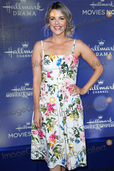 Ali Fedotowski Photo - BEVERLY HILLS LOS ANGELES CALIFORNIA USA - JULY 26 Ali Fedotowsky arrives at the Hallmark Channel And Hallmark Movies And Mysteries Summer 2019 TCA Press Tour Event held at a Private Residence on July 26 2019 in Beverly Hills Los Angeles California United States (Photo by Xavier CollinImage Press Agency)