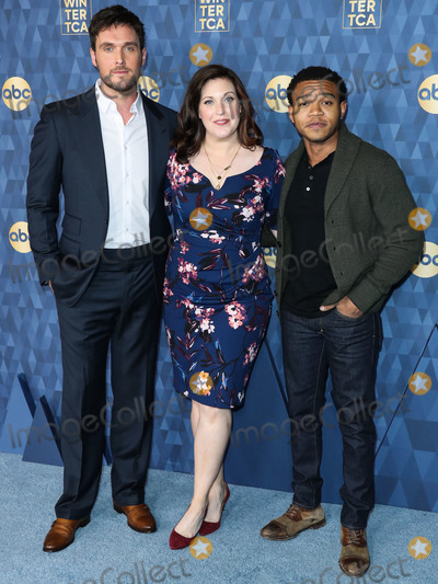 Allison Tolman Photo - PASADENA LOS ANGELES CALIFORNIA USA - JANUARY 08 Owain Yeoman Allison Tolman and Robert Bailey Jr arrive at ABC Televisions TCA Winter Press Tour 2020 held at The Langham Huntington Hotel on January 8 2020 in Pasadena Los Angeles California United States (Photo by Xavier CollinImage Press Agency)