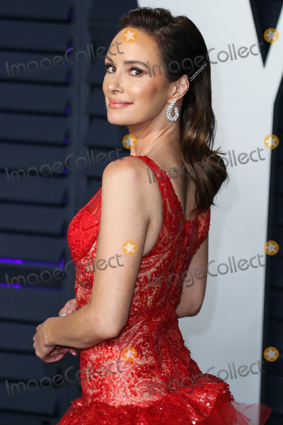Catt Sadler Photo - BEVERLY HILLS LOS ANGELES CA USA - FEBRUARY 24 News anchor Catt Sadler wearing Nedo By Nedret Taciroglu arrives at the 2019 Vanity Fair Oscar Party held at the Wallis Annenberg Center for the Performing Arts on February 24 2019 in Beverly Hills Los Angeles California United States (Photo by Xavier CollinImage Press Agency)