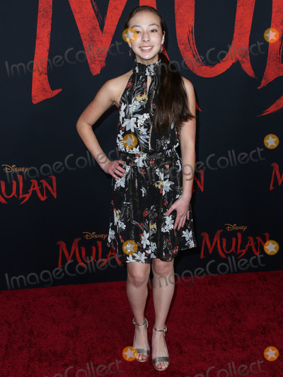 Aubrey Anderson-Emmons Photo - HOLLYWOOD LOS ANGELES CALIFORNIA USA - MARCH 09 Aubrey Anderson-Emmons arrives at the World Premiere Of Disneys Mulan held at the El Capitan Theatre and Dolby Theatre on March 9 2020 in Hollywood Los Angeles California United States (Photo by Xavier CollinImage Press Agency)
