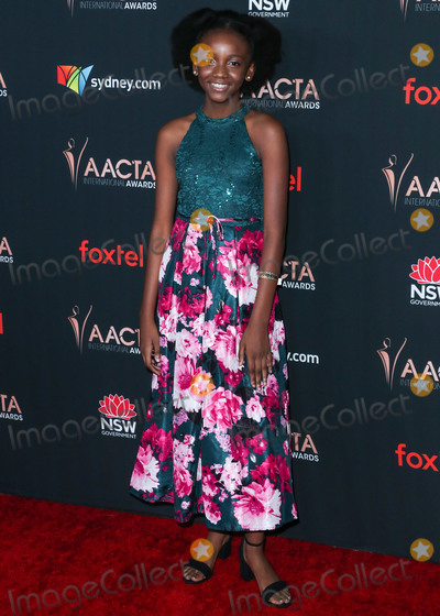 Aria Brooks Photo - WEST HOLLYWOOD LOS ANGELES CALIFORNIA USA - JANUARY 03 Aria Brooks arrives at the 9th Annual Australian Academy Of Cinema And Television Arts (AACTA) International Awards held at SkyBar at the Mondrian Los Angeles on January 3 2020 in West Hollywood Los Angeles California United States (Photo by Xavier CollinImage Press Agency)