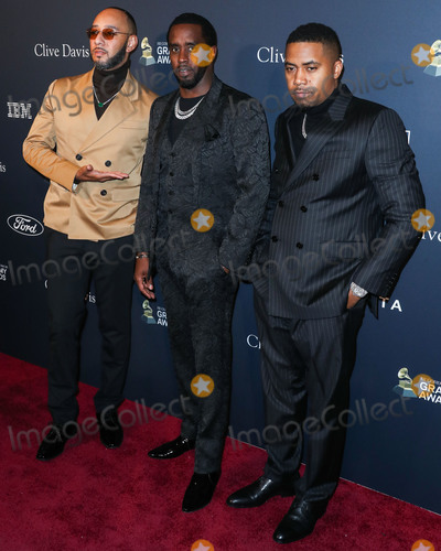 Swizz Beatz Photo - BEVERLY HILLS LOS ANGELES CALIFORNIA USA - JANUARY 25 Swizz Beatz Sean Diddy Combs and Nas arrive at The Recording Academy And Clive Davis 2020 Pre-GRAMMY Gala held at The Beverly Hilton Hotel on January 25 2020 in Beverly Hills Los Angeles California United States (Photo by Xavier CollinImage Press Agency)