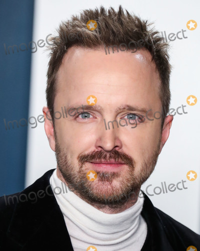 Aaron Paul Photo - BEVERLY HILLS LOS ANGELES CALIFORNIA USA - FEBRUARY 09 Aaron Paul arrives at the 2020 Vanity Fair Oscar Party held at the Wallis Annenberg Center for the Performing Arts on February 9 2020 in Beverly Hills Los Angeles California United States (Photo by Xavier CollinImage Press Agency)
