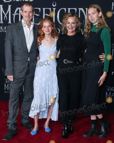 Melora Hardin Photo - HOLLYWOOD LOS ANGELES CALIFORNIA USA - SEPTEMBER 30 Gildart Jackson Piper Quincey Jackson Melora Hardin and Rory Jackson arrive at the World Premiere Of Disneys Maleficent Mistress Of Evil held at the El Capitan Theatre on September 30 2019 in Hollywood Los Angeles California United States (Photo by Xavier CollinImage Press Agency)