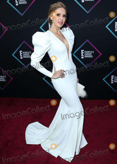 Alejandra Azcarate Photo - SANTA MONICA LOS ANGELES CA USA - NOVEMBER 11 Alejandra Azcarate at the Peoples Choice Awards 2018 held at Barker Hangar on November 11 2018 in Santa Monica Los Angeles California United States (Photo by Xavier CollinImage Press Agency)