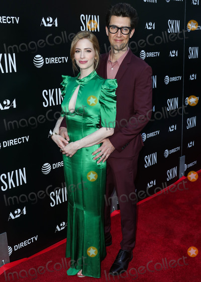 Jaime Ray Newman Photo - HOLLYWOOD LOS ANGELES CALIFORNIA USA - JULY 11 Jaime Ray Newman and Guy Nattiv arrive at the Los Angeles Special Screening Of A24s Skin held at ArcLight Hollywood on July 11 2019 in Hollywood Los Angeles California United States (Photo by Xavier CollinImage Press Agency)
