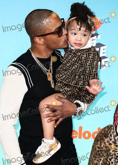 Clifford Joseph Harris Jr Photo - LOS ANGELES CA USA - MARCH 23 TI Clifford Joseph Harris Jr and Heiress Diana Harris arrive at Nickelodeons 2019 Kids Choice Awards held at the USC Galen Center on March 23 2019 in Los Angeles California United States (Photo by Xavier CollinImage Press Agency)