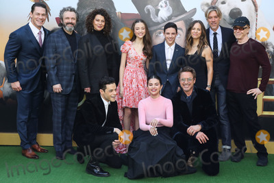 Rami Malek Photo - WESTWOOD LOS ANGELES CALIFORNIA USA - JANUARY 11 John Cena Michael Sheen Donna Langley Carmel Laniado Harry Collett Susan Downey Stephen Gaghan Danny Elfman Rami Malek Selena Gomez and Robert Downey Jr arrive at the Los Angeles Premiere Of Universal Pictures Dolittle held at the Regency Village Theatre on January 11 2020 in Westwood Los Angeles California United States (Photo by Xavier CollinImage Press Agency)