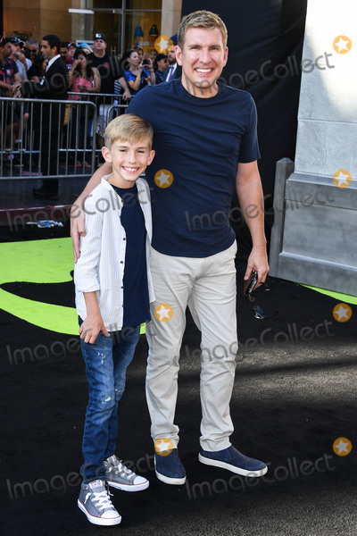 TCL Chinese Theatre Photo - (FILE) Todd Chrisley Tests Positive for Coronavirus COVID-19 Todd Chrisley is opening up about his coronavirus diagnosis following a hospital stay HOLLYWOOD LOS ANGELES CALIFORNIA USA - JULY 09 Grayson Chrisley and father Todd Chrisley arrive at the Los Angeles Premiere Of Sony Pictures Ghostbusters held at the TCL Chinese Theatre IMAX on July 9 2016 in Hollywood Los Angeles California United States (Photo by Xavier CollinImage Press Agency)