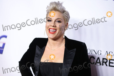 Pink (Alecia Moore) Photo - LOS ANGELES CA USA - FEBRUARY 08 Singer Pnk (Pink Alecia Moore) arrives at the 2019 MusiCares Person Of The Year Honoring Dolly Parton held at the Los Angeles Convention Center on February 8 2019 in Los Angeles California United States (Photo by Xavier CollinImage Press Agency)