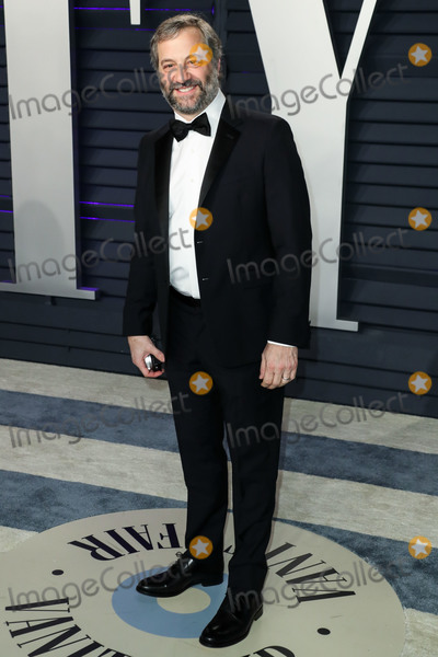 Judd Apatow Photo - BEVERLY HILLS LOS ANGELES CA USA - FEBRUARY 24 Judd Apatow arrives at the 2019 Vanity Fair Oscar Party held at the Wallis Annenberg Center for the Performing Arts on February 24 2019 in Beverly Hills Los Angeles California United States (Photo by Xavier CollinImage Press Agency)