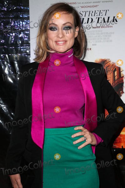 Calvin Klein Photo - HOLLYWOOD LOS ANGELES CA USA - DECEMBER 04 Actress Olivia Wilde wearing Calvin Klein arrives at the Los Angeles Special Screening Of Annapurna Pictures If Beale Street Could Talk held at ArcLight Hollywood on December 4 2018 in Hollywood Los Angeles California United States (Photo by Image Press Agency)