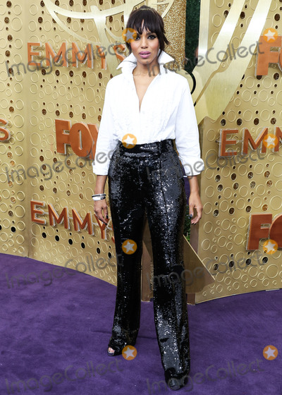 Kerri Washington Photo - LOS ANGELES CALIFORNIA USA - SEPTEMBER 22 Kerry Washington arrives at the 71st Annual Primetime Emmy Awards held at Microsoft Theater LA Live on September 22 2019 in Los Angeles California United States (Photo by Xavier CollinImage Press Agency)