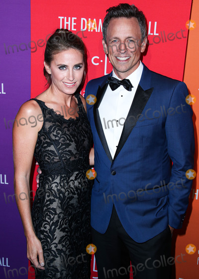 Alexi Ashe Photo - MANHATTAN NEW YORK CITY NEW YORK USA - SEPTEMBER 12 Alexi Ashe and Seth Meyers wearing Dolce and Gabbana arrive at Rihannas 5th Annual Diamond Ball Benefitting The Clara Lionel Foundation held at Cipriani Wall Street on September 12 2019 in Manhattan New York City New York United States (Photo by Xavier CollinImage Press Agency)
