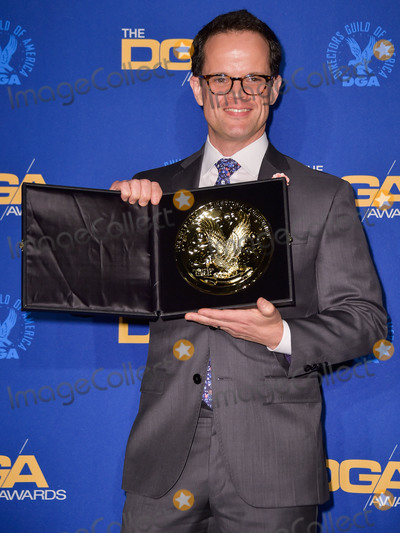 Andy Fisher Photo - LOS ANGELES CALIFORNIA USA - JANUARY 25 Andy Fisher poses in the press room at the 72nd Annual Directors Guild Of America Awards held at The Ritz-Carlton Hotel at LA Live on January 25 2020 in Los Angeles California United States (Photo by Image Press Agency)