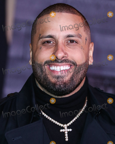 Nicky Jam Photo - HOLLYWOOD LOS ANGELES CALIFORNIA USA - JANUARY 14 Nicky Jam arrives at the Los Angeles Premiere Of Columbia Pictures Bad Boys For Life held at the TCL Chinese Theatre IMAX on January 14 2020 in Hollywood Los Angeles California United States (Photo by Xavier CollinImage Press Agency)