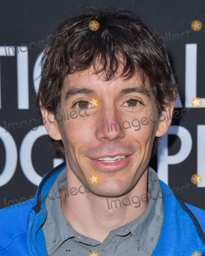 The National Photo - LOS ANGELES CALIFORNIA USA - JUNE 02 Alex Honnold arrives at the National Geographics Contenders Showcase held at The Greek Theatre on June 2 2019 in Los Angeles California United States (Photo by Image Press Agency)
