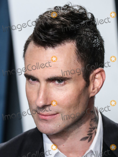 Adam Levine Photo - BEVERLY HILLS LOS ANGELES CALIFORNIA USA - FEBRUARY 09 Adam Levine arrives at the 2020 Vanity Fair Oscar Party held at the Wallis Annenberg Center for the Performing Arts on February 9 2020 in Beverly Hills Los Angeles California United States (Photo by Xavier CollinImage Press Agency)