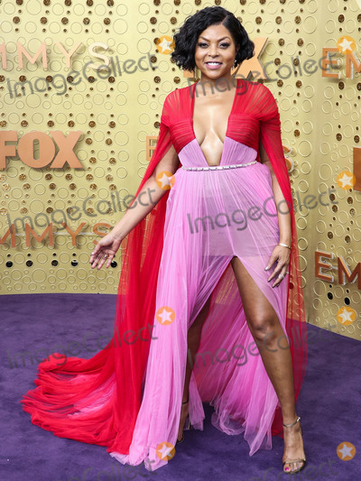 Taraji P Henson Photo - LOS ANGELES CALIFORNIA USA - SEPTEMBER 22 Taraji P Henson arrives at the 71st Annual Primetime Emmy Awards held at Microsoft Theater LA Live on September 22 2019 in Los Angeles California United States (Photo by Xavier CollinImage Press Agency)