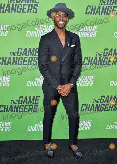 Chris Paul Photo - HOLLYWOOD LOS ANGELES CALIFORNIA USA - SEPTEMBER 05 Chris Paul arrives at the Los Angeles Premiere Of The Game Changers held at ArcLight Cinemas Hollywood on September 5 2019 in Hollywood Los Angeles California United States (Photo by Image Press Agency)