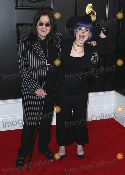 Kelly Osbourne Photo - LOS ANGELES CALIFORNIA USA - JANUARY 26 Ozzy Osbourne and Kelly Osbourne arrive at the 62nd Annual GRAMMY Awards held at Staples Center on January 26 2020 in Los Angeles California United States (Photo by Xavier CollinImage Press Agency)